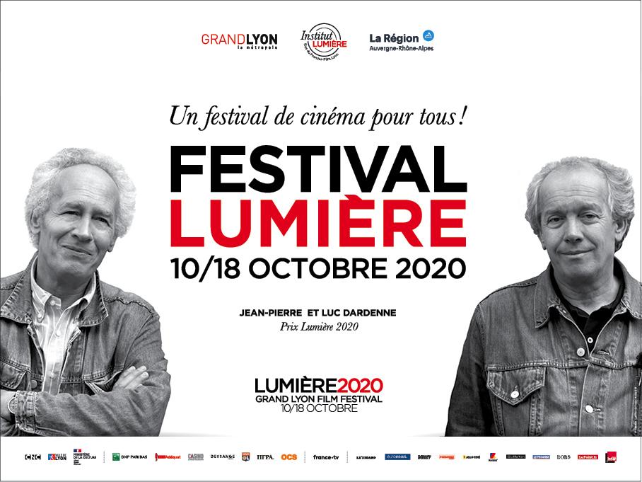 Affiche festival Lumiere 2020 Lyon