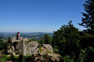 Carnet de voyage : La Roche d'Ajoux, balade en Beaujolais