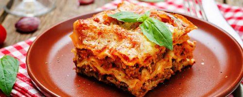 Recette : La lasagne maison