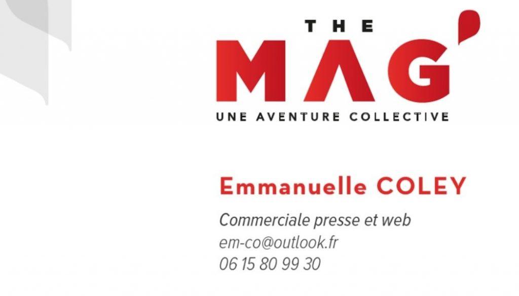 Emmanuelle Coley - Commerciale THE MAG' magazine gratuit rhone