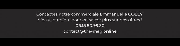 Commercial et media kit The Mag' magazine gratuit lyon