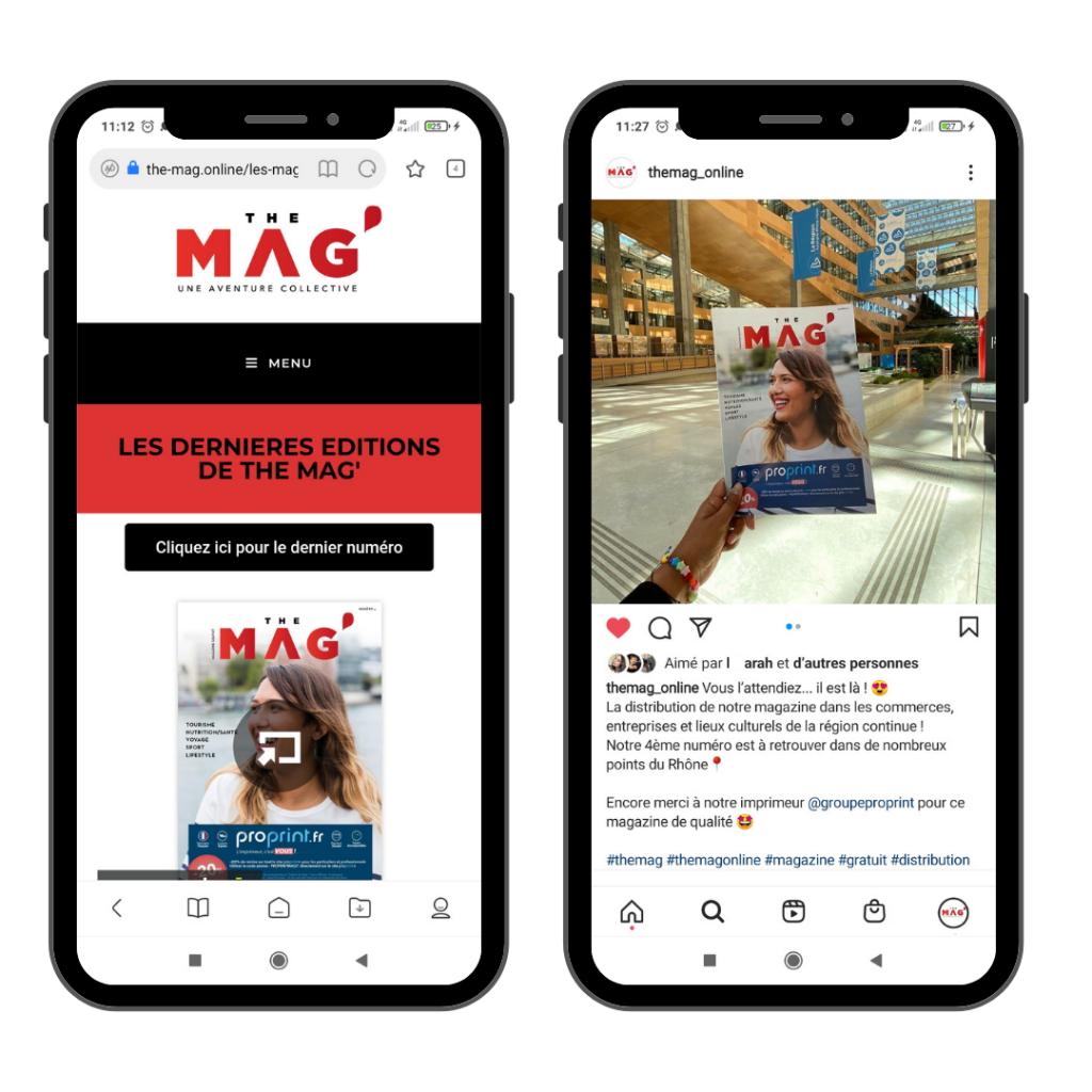 The Mag' magazine gratuit lyon et rhone - blog et instagram